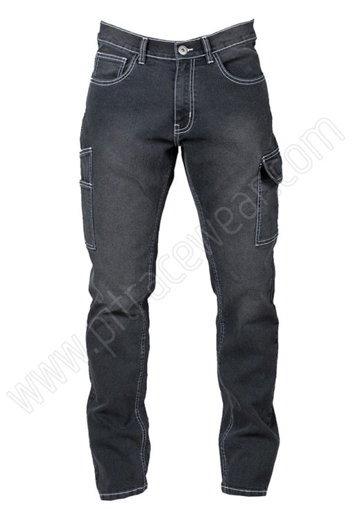 Pantalone Jeans black