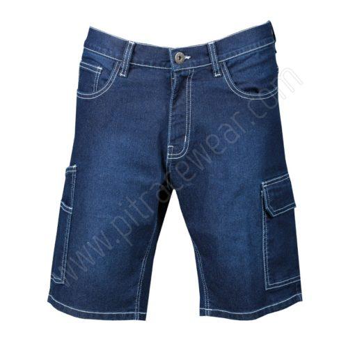 Trouser Jeans short indigo